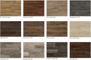 7 inch plank colors