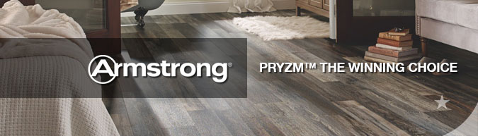 Save up to 60% on Armstrong pryzm luxury flooring